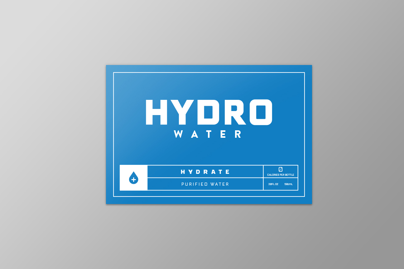HYDROWATERlabel