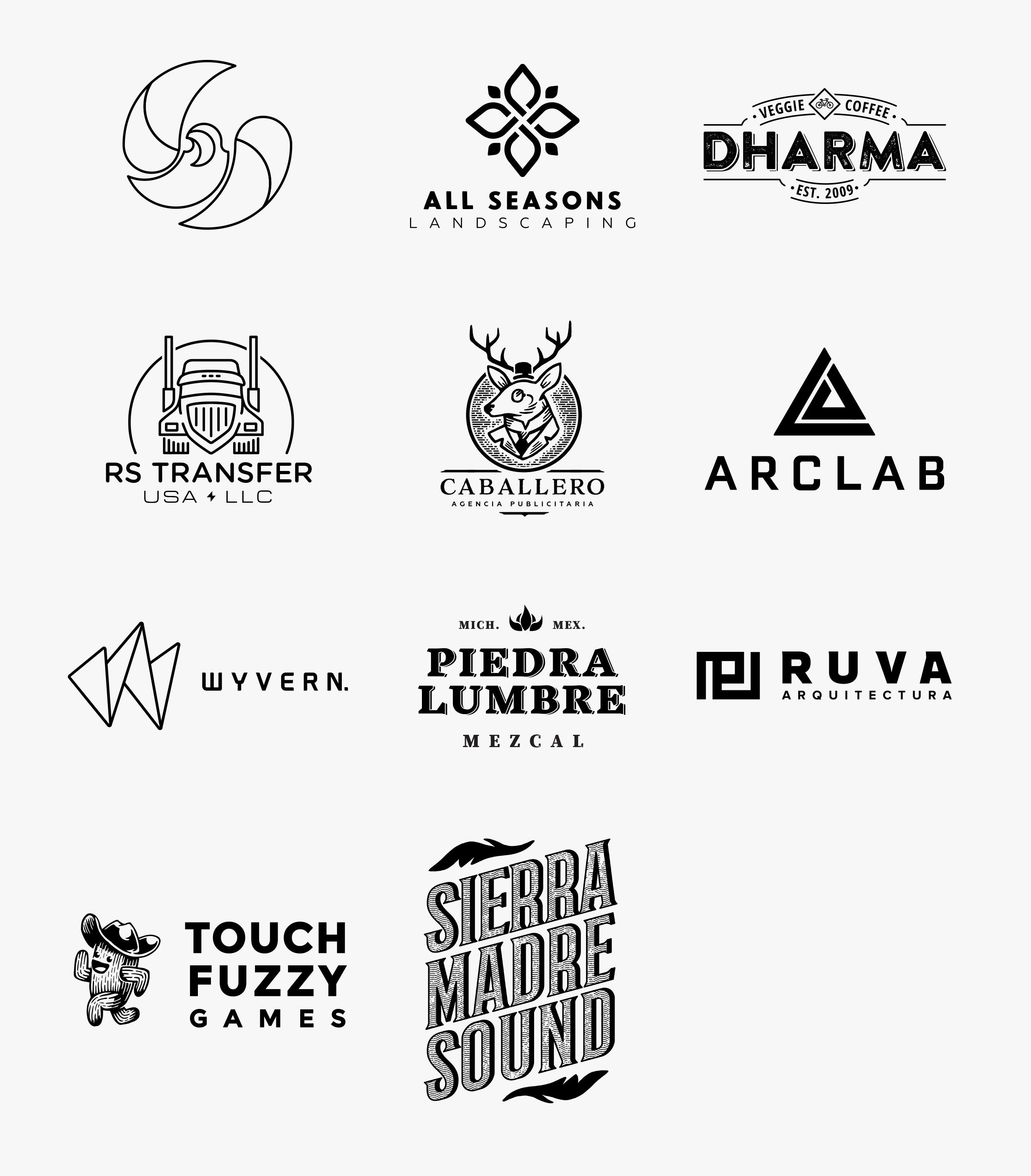 Logos_White